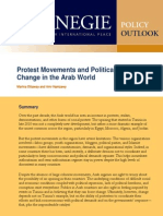 Protest Movements and Political Change in the Arab World