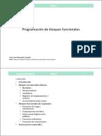 6.- PROGRAMACIÓN DE BLOQUES FUNCIONALES