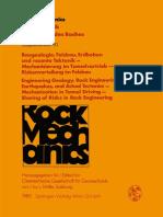 [Rock Mechanics 10] (auth.), L. Müller (eds.) - Baugeologie, Felsbau, Erdbeben und rezente Tektonik — Mechanisierung im Tunnelvortrieb — Riskenverteilung im Felsbau _ Engineering Geology, Rock Engineering, Ear.pdf