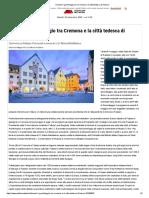 gemellaggio tra Cremona e la città tedesca di Füssen