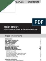 Sportline DUO_1060 manual