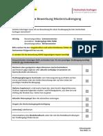 Checkliste_Bewerbung_Masterstudiengang