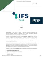 IFS _ Certificaciones de Calidad y Seguridad Alimentarias