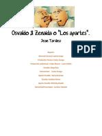 OSVALDO Y ZENAIDA O LOS APARTES - JEAN TARDIEU