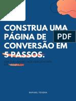 e-book - CONSTRUA UMA PÁGINA DE CONVERSÃO em 5 PASSOS