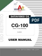 datavideo CG 100