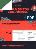 2 - Segmentação de públicos - Drop on fire