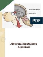 Afectiuni hipotal-hipofizar