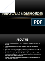 Selling Gold With Diamonds at a Profit