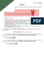 Ficha Informativa - Adjetivo