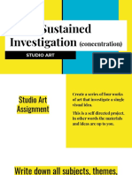 sustained investigation  concentration
