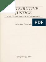 Deutsch, Distributive Justice.pdf
