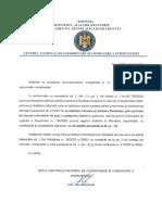 Centrul Național de Coordonare și Conducere a Intervenției din cadrul DSU al MAI - scrisoare de răspuns pentru Sputnik