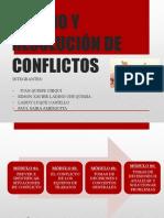 MANEJO Y RESOLUCIÓN DE CONFLICTOS.