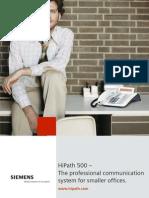 BrochureHiPath500