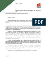 Voeu Aimer Toulouse Sapins 08102020