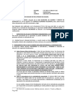 ABS. CONTRADICION  nulidad de titulo - carrasco quiñones
