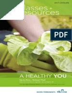 2017 Santa Rosa Healthy Living Catalog