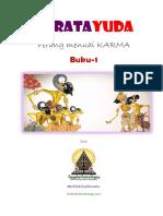 Cerita Wayang FB Prabu - Baratayuda  Perang Menuai Karma Buku-1