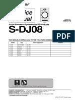 Pioneer S DJ08