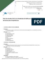 Plan Estudios Curso Revit Structure Para Arquitectura _ Estructuras _ Modelado _ Simulación _ Análisis Estructural _ Proyectos _ Edificaciones _ Simulaciones _ Diseño _ _ ICIP _ Curso Virtual _ Instituto Científico Del Pacífico