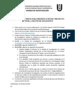 TRÁMITE y REQUISITOS- NUEVOS PROYECTOS DE TESIS 2020(1)