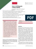 Bubble-free oxygenation of a bi-enzymatic system