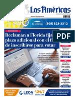 DIARIO LAS AMÉRICAS Portada digital del miércoles 7 de octubre de 2020