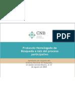 Protocolo Homologado de Búsqueda de Personas Desaparecidas de SEGOB CNB - DOF MX 06 10 2020