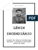 Lenin incendiário