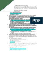 Preguntas PMP Practice Exam 200