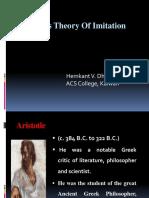 Aristotle's Theory of Imitation