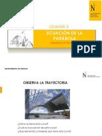 SEMANA 03E PPT ECUACIÓN DE LA PARÁBOLA, ELIPSE Y CIRCUNFERENCIA