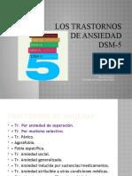 Los trastornos de ansiedad DSM-5 1 (2) (1)
