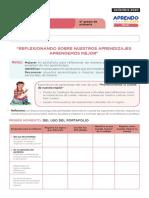 FICHA DE AUTOAPRENDIZAJE PERSONAL SOCIAL SESION EVALUACIÓN SEXTO GRADO.pdf