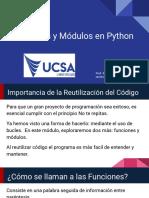 Funciones y Módulos en Python