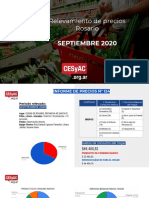 Relevamiento de Precios Cesyac de Septiembre 2020