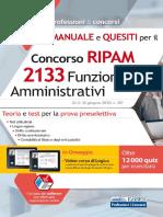 Concorso RIPAM 2133 Funzionari amministrativi - Manuale e quesiti per la preselezione
