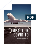 The Impact of Covid-19 on Aviation Industry