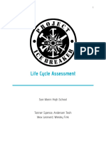 project icebreaker life cycle assessment - report and infographic