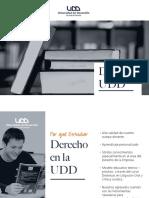 DERECHO ADMISIÓN 2018