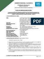PLIEGO DE OBSERVACIONES CERCO