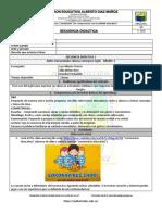 Secuencia didáctica#1 Inglés 3°