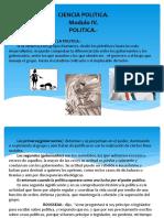 Modulo 4. Politica