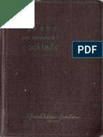 1951 L'ABC per miscelare i cocktails