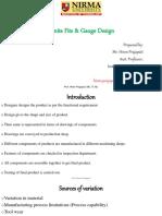 limit fit & gauge design
