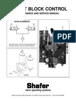 Poppet Block Maintenance and Service Manual