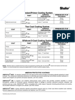 Shafer Paint Specifications