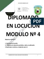 MODULO 4 LOCUCION PROYECTO DE GRADUACIÓN