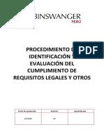 GPYC.P.RL Procedimiento de Requisitos legales